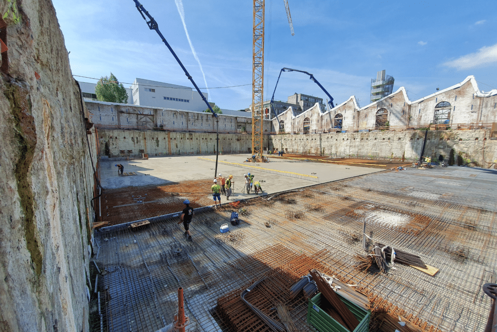 industriële gepolierde betonvloeren vecon